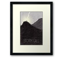 Tamriel Shout - Storm Call Framed Print