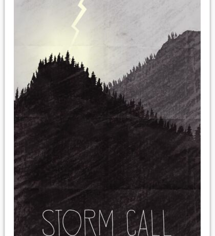 Tamriel Shout - Storm Call Sticker