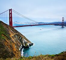 Golden Gate Cliffs by jswolfphoto