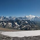 Mt. Blanc Massif by Ruben Emanuel