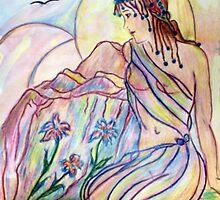 She Dreams... by Robin Monroe