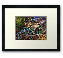 Pedals of Autumn  Framed Print