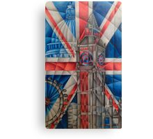British Icons Canvas Print