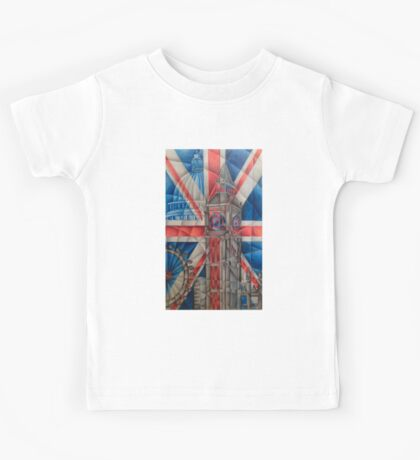 British Icons Kids Tee