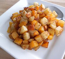Roasted Root Vegetables  by Karla  Cyr