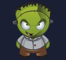 Frankenstein Monster Boy Naughty Grin by DesignWolf