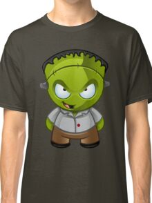 Frankenstein Monster Boy Naughty Grin Classic T-Shirt