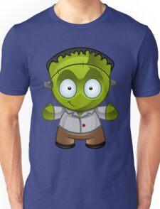 Frankenstein Monster Boy Smiling Unisex T-Shirt