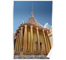 Golden Columns Poster