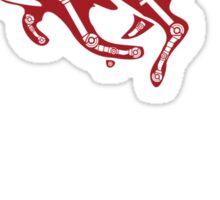 Turbo Fox Sticker