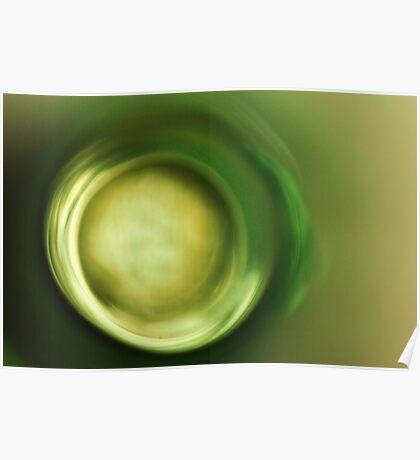 Green Zen Poster
