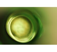 Green Zen Photographic Print