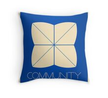 Community - Minimalist Movie Posters Throw Pillow