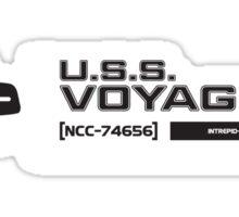 USS Voyager (2) Sticker
