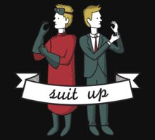 Suit Up by Lindsay Rabiega