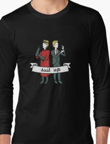 Suit Up Long Sleeve T-Shirt