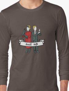 Suit Up Long Sleeve T-Shirt