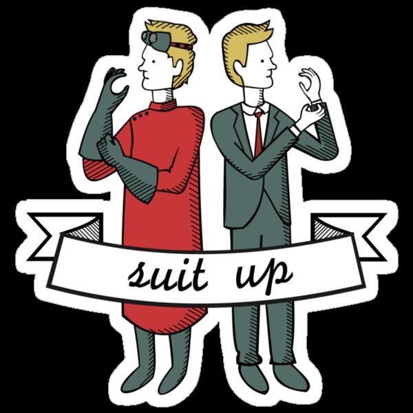 Suit Up by Lindsay Rabiega