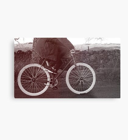 Fixie Bike Metal Print