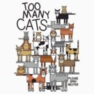 Too Many Cats by Lisann