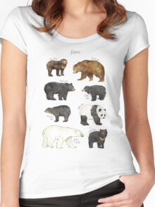 Bears Women's Fitted Scoop T-Shirt