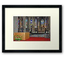 Eglise Saint Maurice - Lille - France Framed Print