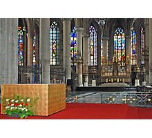 Eglise Saint Maurice - Lille - France Photographic Print