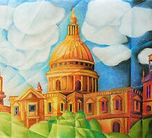 St Pauls Cathedral by Tiffany Budd