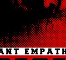 Blade Runner - Voight Kampf Empathy Test Sticker