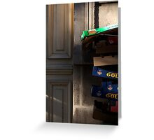 Just an ordinary place, an ordinary day, somewhere ..... Greeting Card