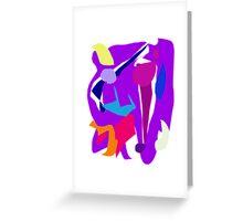 Mask Scrupulous Vice Virtue Novel Bat Greeting Card