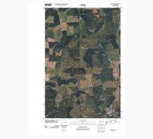 USGS Topo Map Washington State WA Garfield 20110401 TM Kids Tee