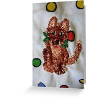 Gingerbread Shenanigans  Greeting Card