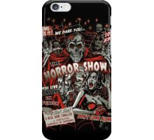 Spook Show Horror movie Monsters  iPhone Case/Skin