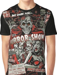 Spook Show Horror movie Monsters  Graphic T-Shirt