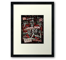 Spook Show Horror movie Monsters  Framed Print