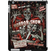 Spook Show Horror movie Monsters  iPad Case/Skin