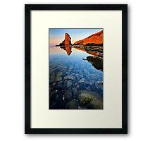 beauty coast line Framed Print