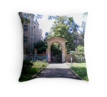 Art Gate Throw Pillow