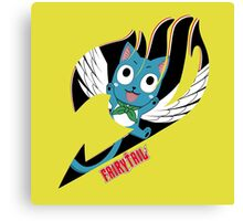 Black Fairy Tail (Happy Session), Totebag Canvas Print