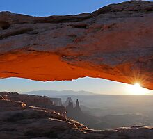 Sun Kissing Mesa Arch by William C. Gladish, World Design