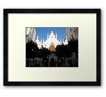 Temple in Prague Framed Print