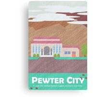 Kanto Town - Pewter City Print Canvas Print