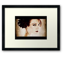 Silent Movie Framed Print