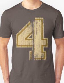Vintage Distressed Sports Number 4 T-Shirt