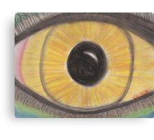 Golden Eye Canvas Print