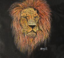 Lion #1 by JohnBiondo