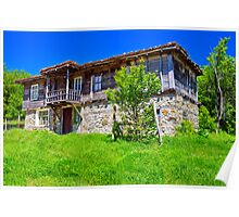 old historic house in Strandjha Poster