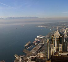 Seattle from the Sky by OffOn
