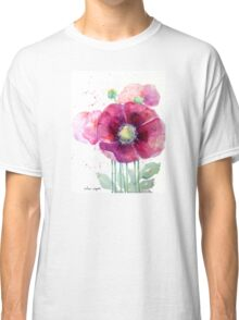 Pink Poppies Classic T-Shirt